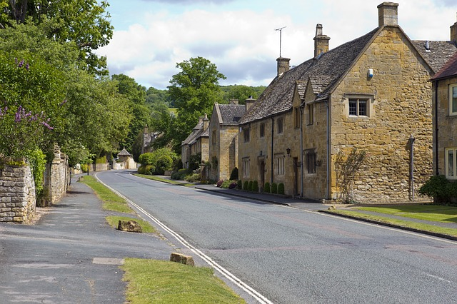 News: Cotswolds village Street